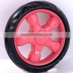 "4.5"" eva foamed wheel baby stroller wheel eva foam wheel for trolley"