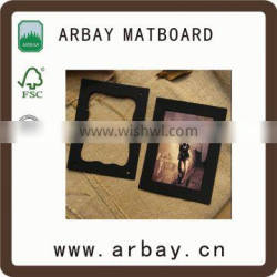 New desing of photo frames/ hot sale image chef photo frame cutting mat board linen print fabric