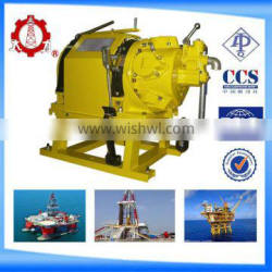 made in china JQH series 5 tonair hand winch with two way ratchet/trawl winch for lifeboat davit