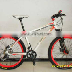 26 white alloy moutain bicycle/bike/cycle hot sale