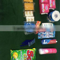 personal hygiene kits include hygiene products