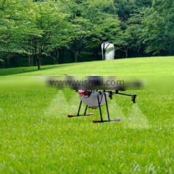 4-5 hectare/hour agriculture drone 6 axis sprayer 10kg 15kg