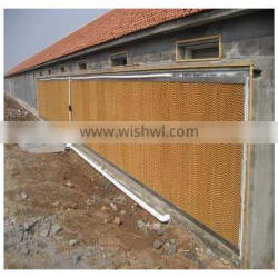 poultry farm chicken house cooling pad system