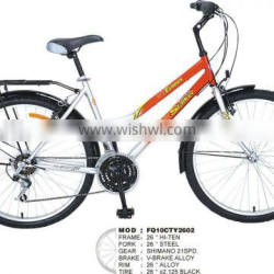 utility bike JB14ct2602 26inch steel frame city cruiser BIKE