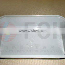 disposable aluminum foil food container restaurant food packing