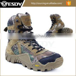 Outdoor Military Army Combat Hunting Assault Hiking Boots Camo