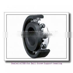 Sealed ACTBB for Ball Screw Support bearing