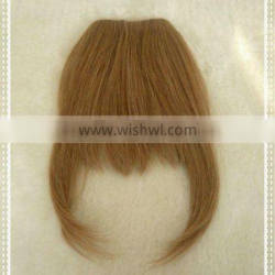 2013 beautiful and fashionable cheap price remy human hair pieces bangs