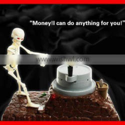 2015 Hot sales!!!Make coin saving insteresting automated skull ghost