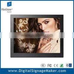 "15"" touch lcd digital scrolling advertising billboard"