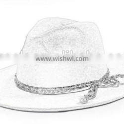 Classic quality character beach straw hat