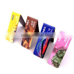 personalized folding magnetic bookmark for promotion
