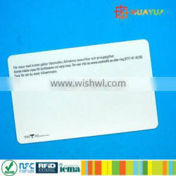 13.56mhz ISO14443A PVC transportation MIFARE Ultralight C card