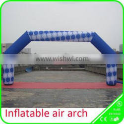 Customized dye sublimation inflatable printed arch