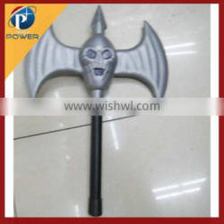 ywiu facotry wholesale halloween axe, plastic toy axe, halloween decoration
