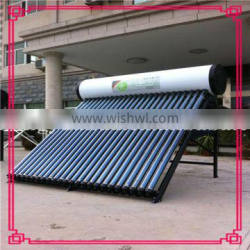 Compact Pressurized Vacuum Tube Solar Water Heater