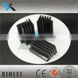 Hot sale ISO certificate 6000 series aluminum casting LED Heat Sink 32X25MM