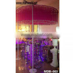 wedding crystal tent wedding decoration home party decoration(MBD-003)