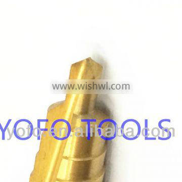 High speed steel Metric step drill
