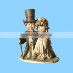 resin old couple wedding sculptures