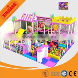 Kids Indoor playground Type And Plastic Playground Material With plastic slides
