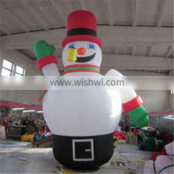 Outdoor Attractive Giant Christmas Decoration Snowman Inflatable for sell
