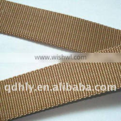 Strong tensity seat belt webbing