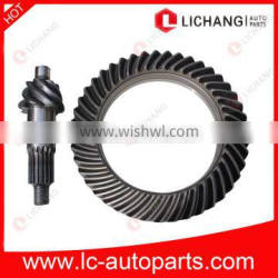 Crown and Pinion Gear for NPR truck 8-97035-455-0