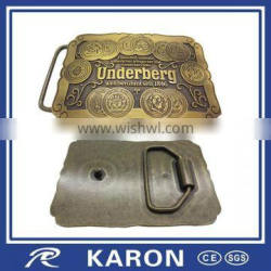 direct manufacturer made Custom Quality metal belt buckle
