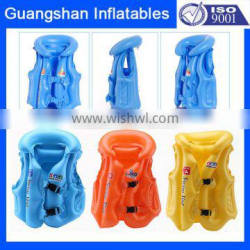 Children Float Swimming Aid Inflatable Life Vest