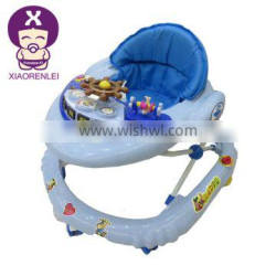 Melody Musical Baby Ocean Explorer Play Tray Cute 6 Wheels Baby Walker