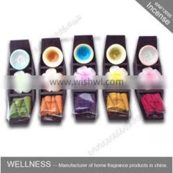 wholesale incense cones in bamboo holder