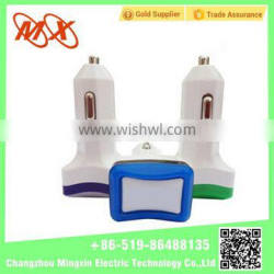 MX mobilephone single USB car charger for universal mobilephone/iphone/GPS