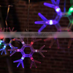 Xmas 60LED for 6pieces Snowflake Curtain Light