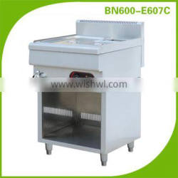stainless steel table top electric bain marie food warmer with cabinet frame BN600-E607C