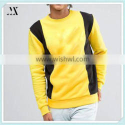 2016 wholesamle Man Sweatshirt Cotton/Spandex Custom Sweatshirt