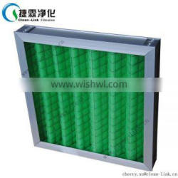 2015 NEW Washable pleated panel air filter