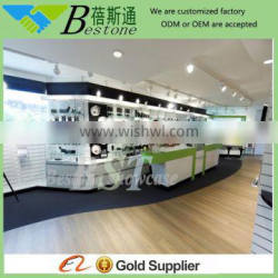 MDF wooden materials used cash counter for sale