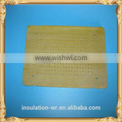 RED-HOT-SELLER!Yellow epoxy resin sheet with punch stiffening plate