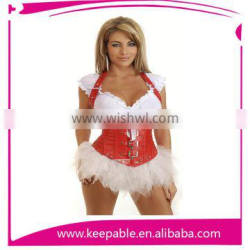 New Design Open Hot Sexy Lady Photo Corset Overbust Plus Size