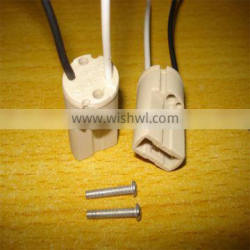 ceramic G9 lamp socket (with M10*1 metal hicky)