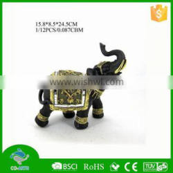 2015 New style small elephant resin animal sculpture