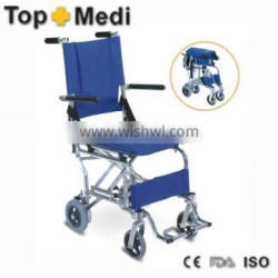 High Quality Transit Airplane Aisle Wheelchair for Disabled