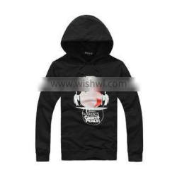 polyester/cotton pullover hoodies custom wholesale, high quality unisex sweatshirt wholesale