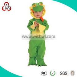 Hot Sale cute custom child frog costume made in China