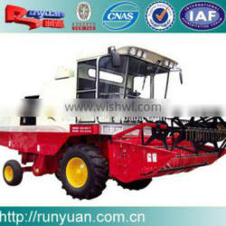 4lz-5 wheeled wheat harvester soybean combine harvestert high effciency