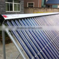 heat pipe solar collector for solar water heater in swimming pool