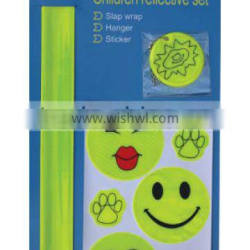 school children reflective safety set