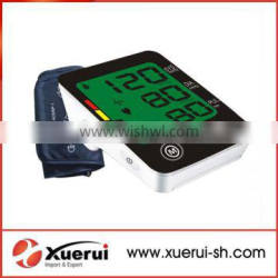 3 colors backlight display arm blood pressure monitor