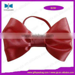 pre-tied ribbon bow/ jar bow/bow with stretch loop